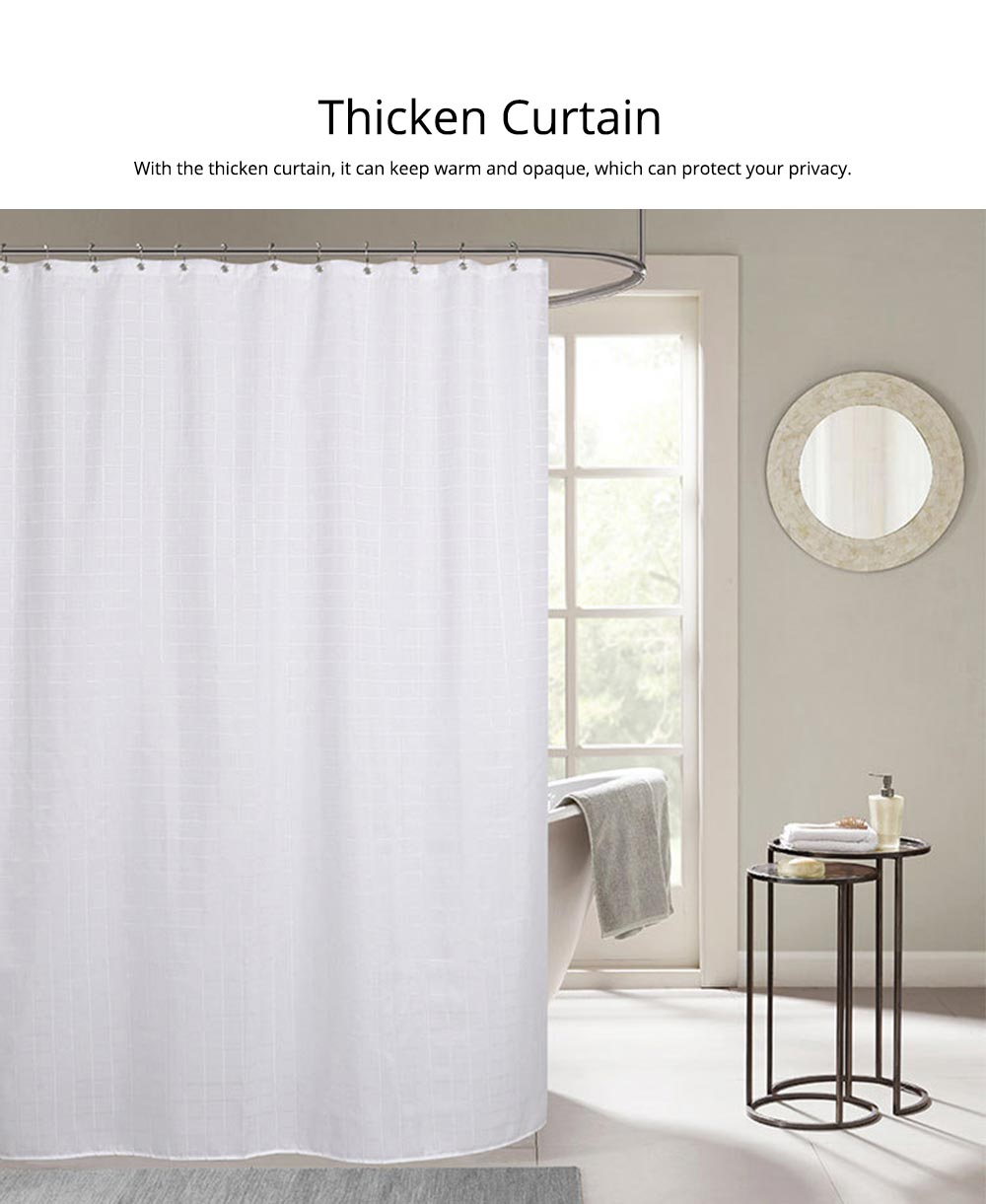 Bathroom Partition Curtains Thicken Waterproof And Mildew Proof Polyester Curtain 2