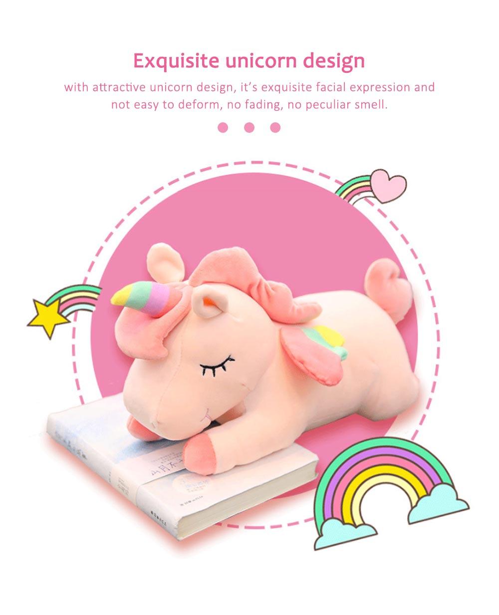 Lovely Unicorn Soft Plush Toy, Large Girl Pillow Birthday Gift 1