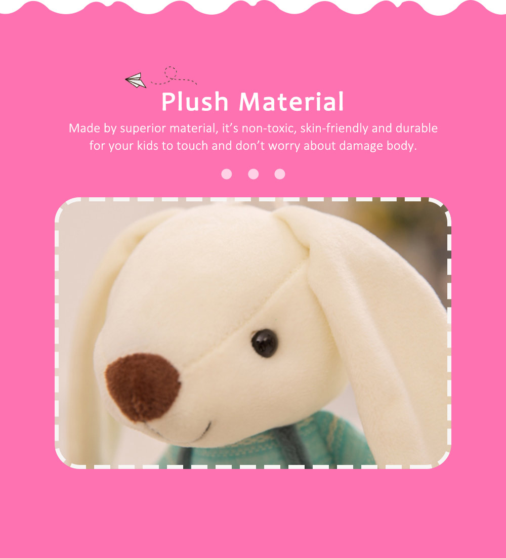 Sugar Candy Rabbit Plush Toy, Super Soft Cuddly Figures for Kids Gift Party Favors 4