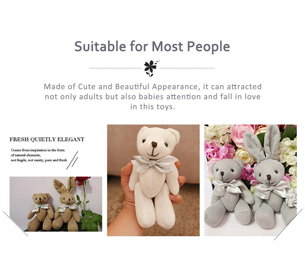 Stuffed Plush Animal Toys, Colorful Grass Mud Horse Toy Doll For Friends and lovers 3