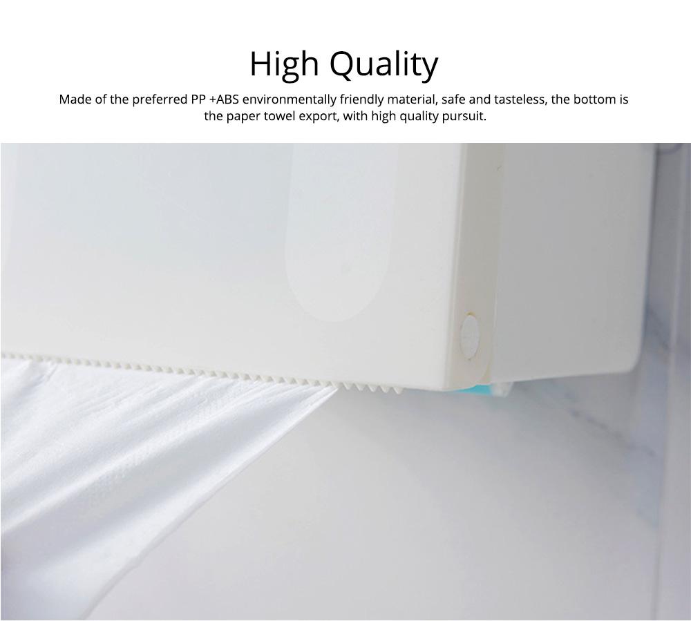Toilet Paper Rack Holder, Punch-free Bathroom Tissue Box 1