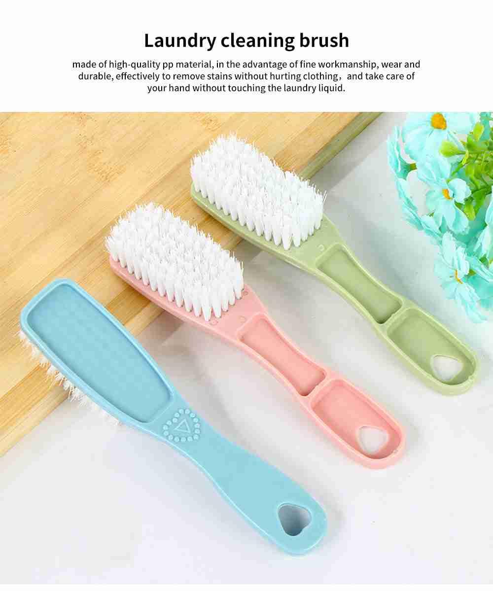 Wear-resistant Durable Laundry Brush, 3 Pack Shoe Brush Cleaning Brush 0