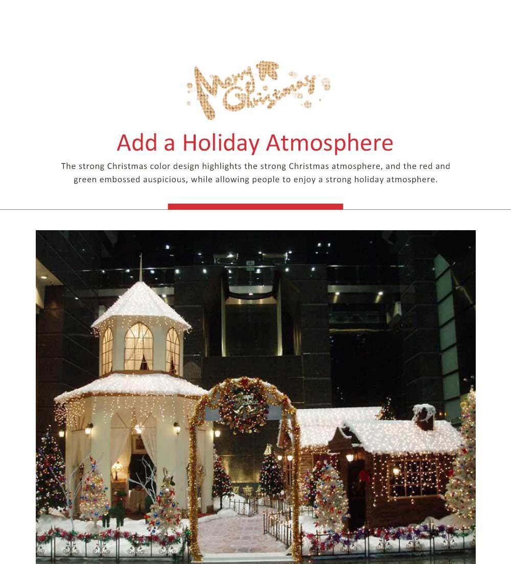 Cartoon Old Man Snowman Desktop Decoration, New Christmas Wooden Decorations 5