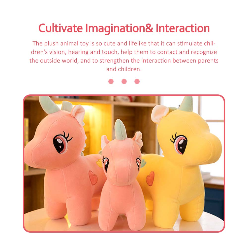 Cute Unicorn Doll Plush Toy, Instagram Famous Doll Children Doll Pillow 5