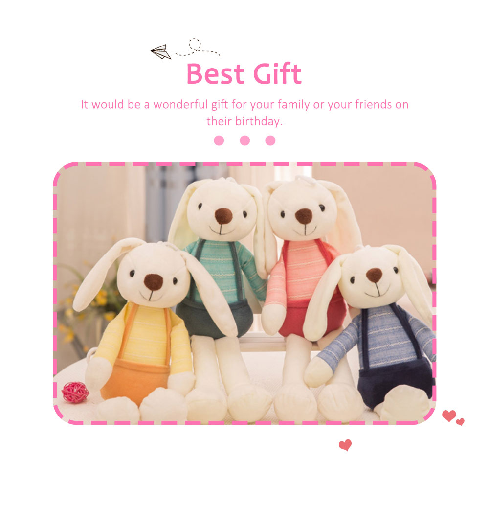 Sugar Candy Rabbit Plush Toy, Super Soft Cuddly Figures for Kids Gift Party Favors 5