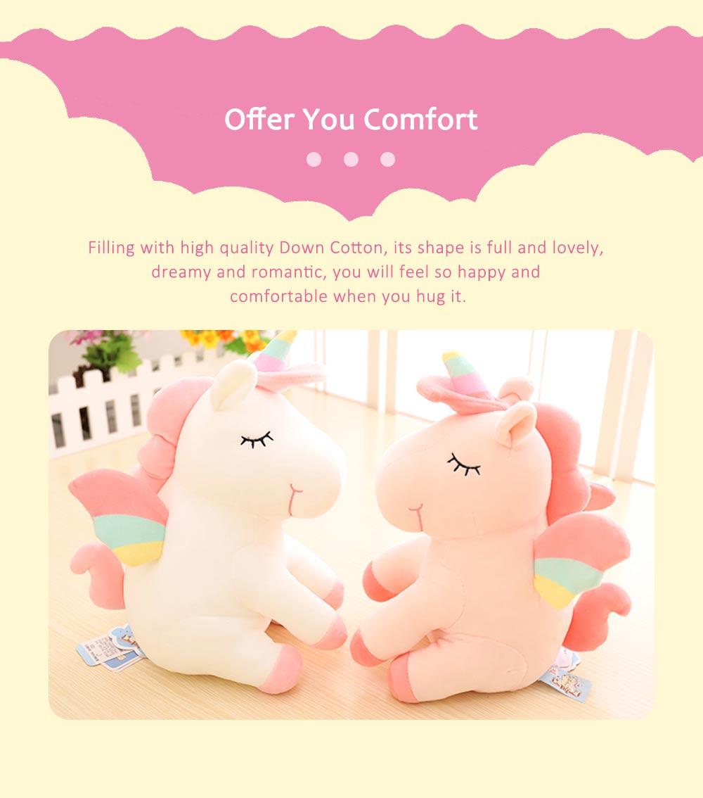 Lovely Unicorn Soft Plush Toy, Large Girl Pillow Birthday Gift 2