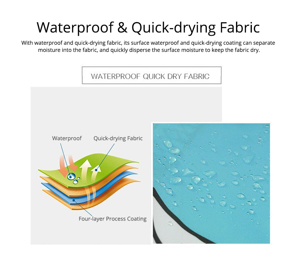 Cartoon Rabbit Shower Curtain, Waterproof American Polyester Shower Curtain 4