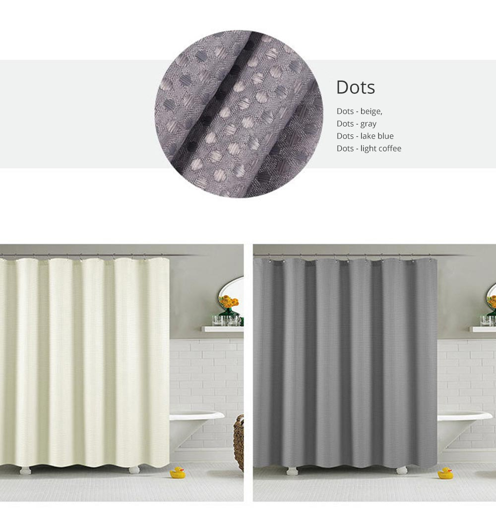 Bathroom Partition Curtains Thicken Waterproof And Mildew Proof Polyester Curtain 7