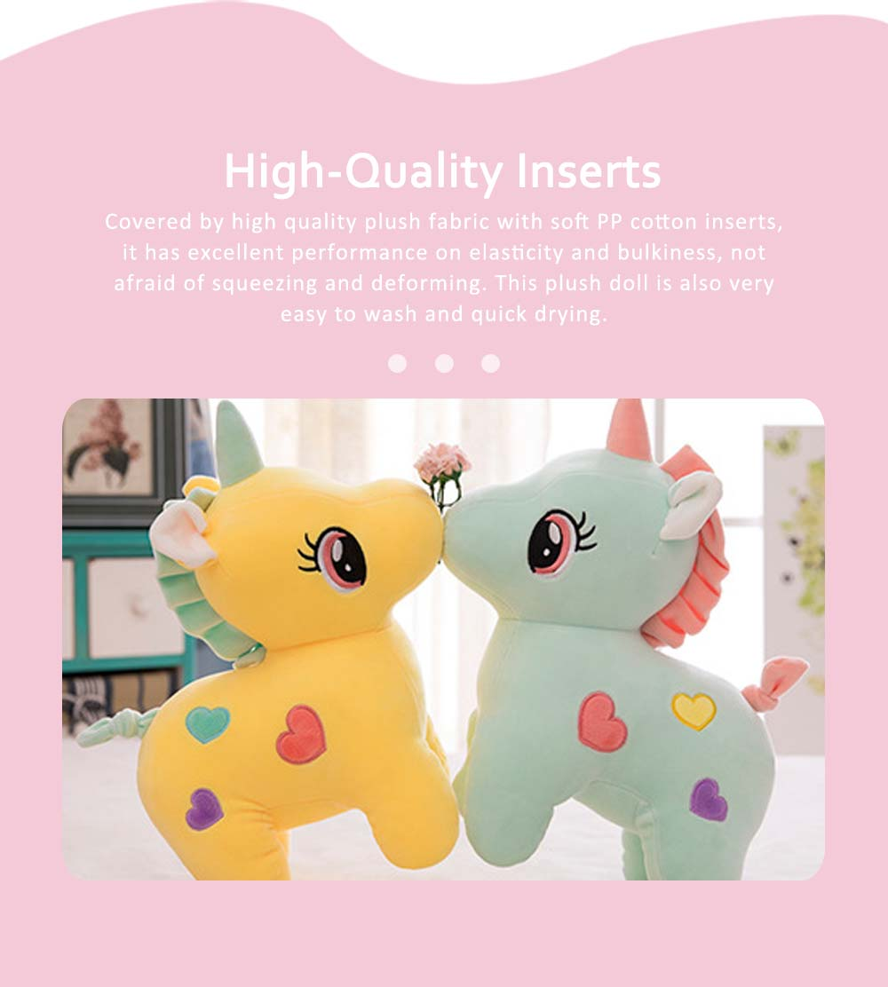 Cute Unicorn Doll Plush Toy, Instagram Famous Doll Children Doll Pillow 2