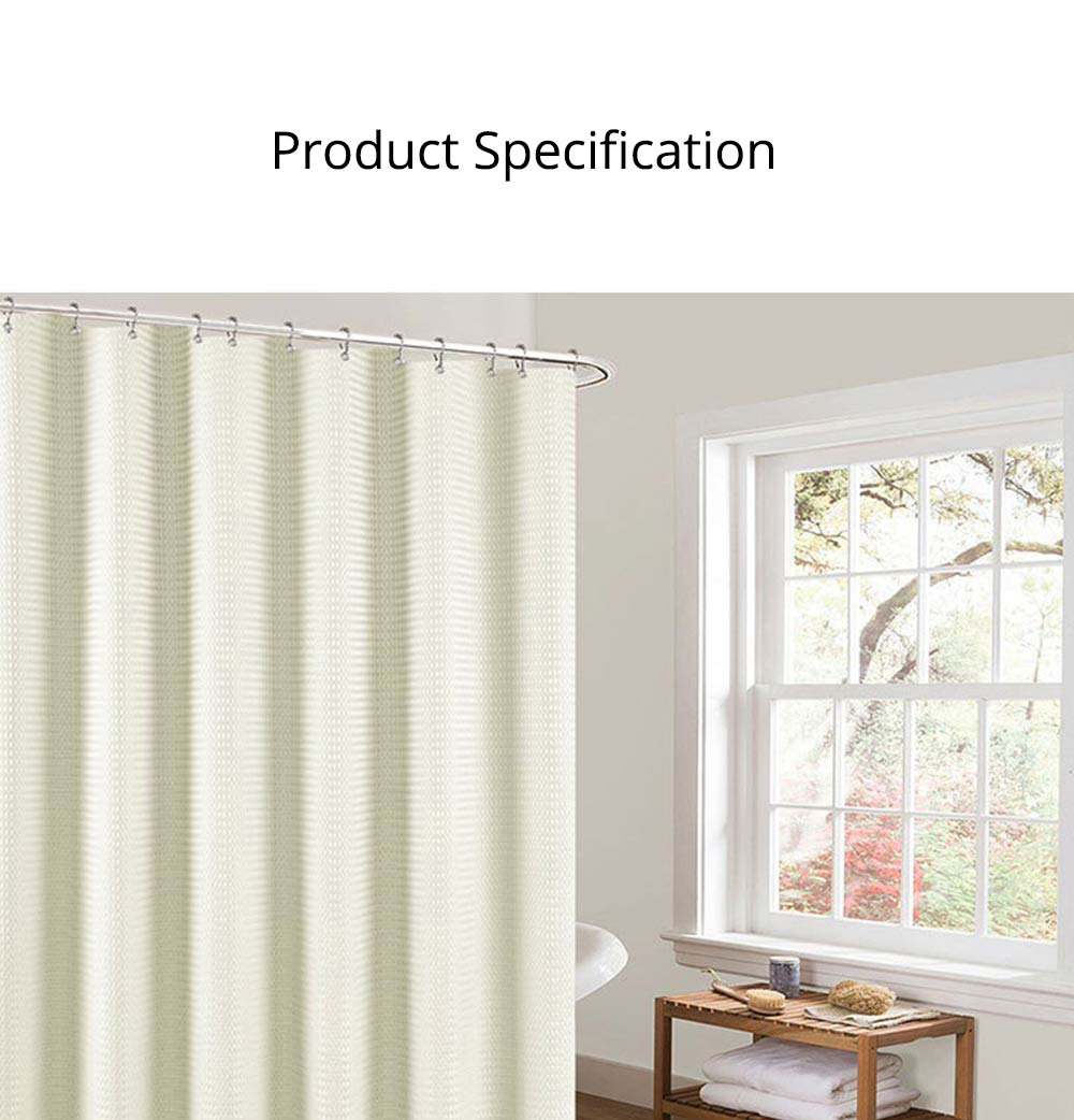 Bathroom Partition Curtains Thicken Waterproof And Mildew Proof Polyester Curtain 5