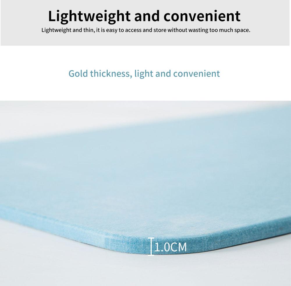 Diatomaceous Earth Mat, Water Absorption Anti-slip Bath mats 2