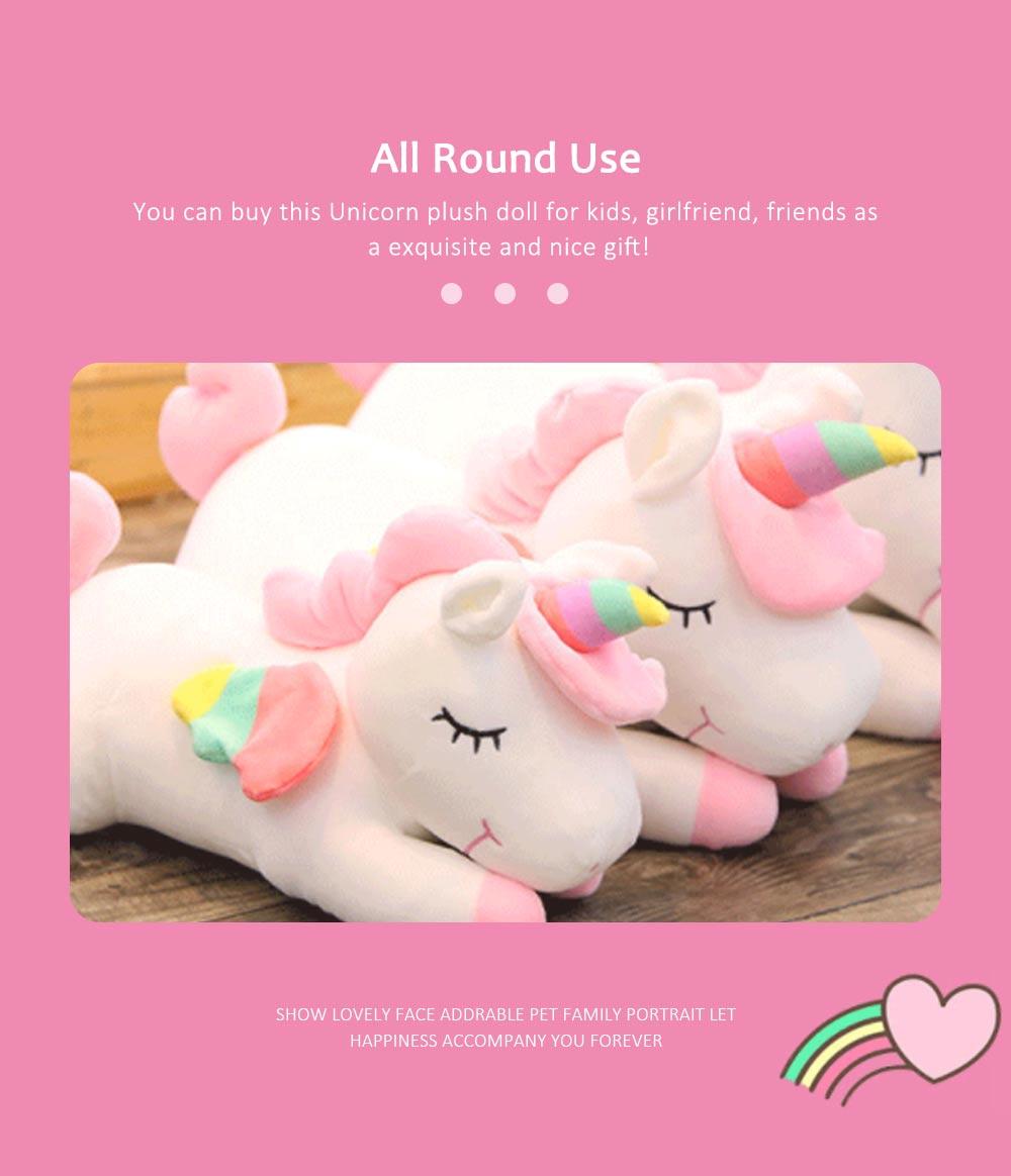 Lovely Unicorn Soft Plush Toy, Large Girl Pillow Birthday Gift 5