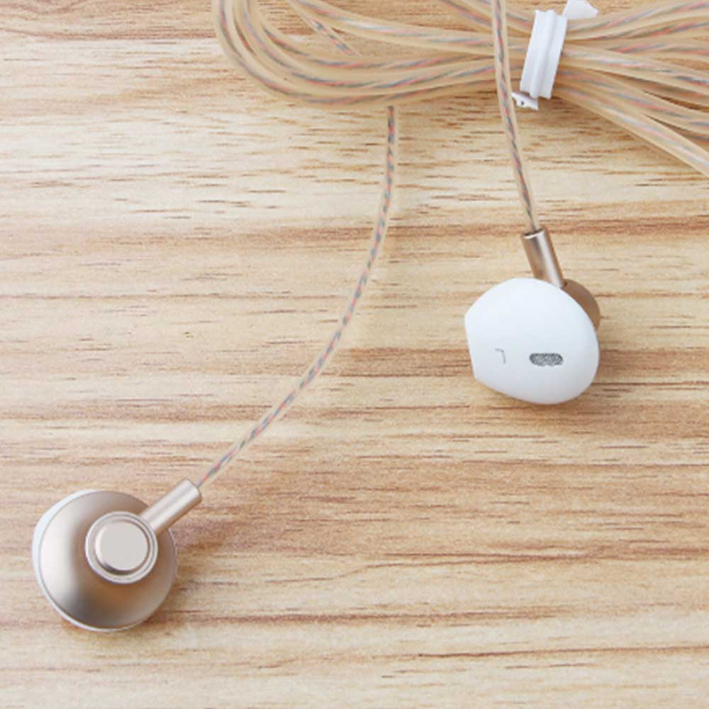 In-Ear Mobile Phone Headset, Line-controlled Dynamic Ring Music Headset 10