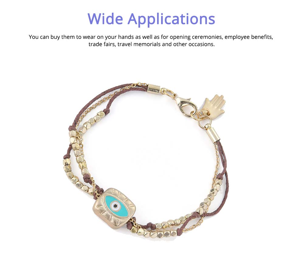 Hand-Woven Hand Catenary, Bohemian Style Beaded Bracelets For Women 5