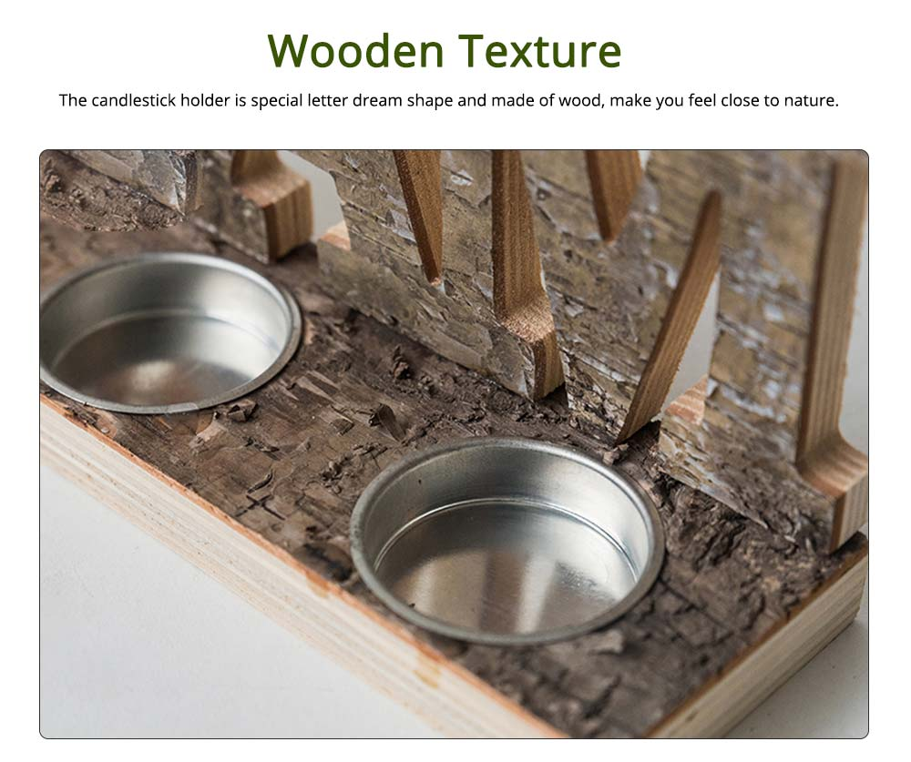 Wooden Candle Holders Candlestick Holder 1