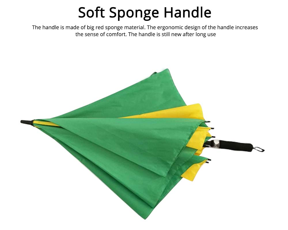 Square Golf Umbrella, 30 Inch Button Switch Simple Straight Umbrella 4