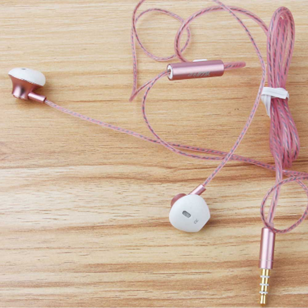 In-Ear Mobile Phone Headset, Line-controlled Dynamic Ring Music Headset 9