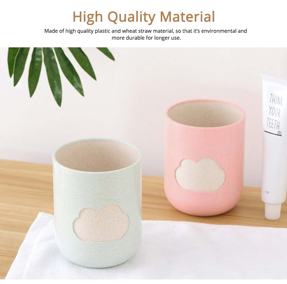 Plastic Toothbrush Mug, Simple Toothbrush Cup Holder 2