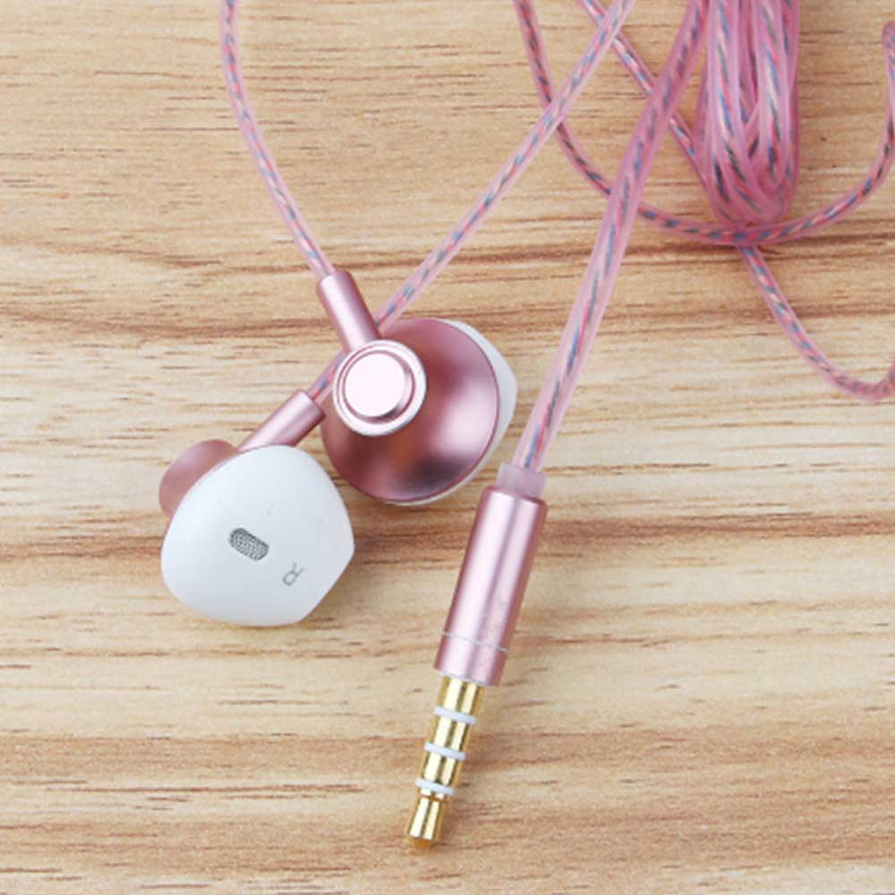 In-Ear Mobile Phone Headset, Line-controlled Dynamic Ring Music Headset 8
