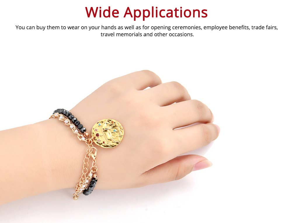 Zodiac Constellation Bracelet, Drill String With Alloy Insert Hand Catenary 4