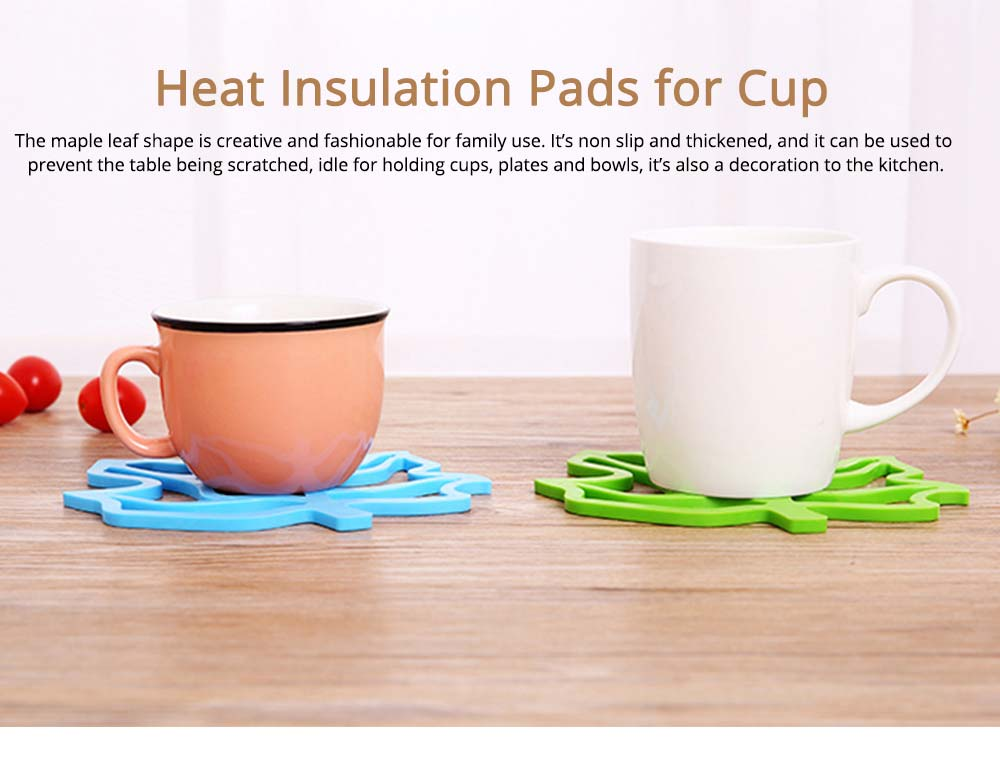 Leaf Heat Resistant Table Protector Pads, Non Slip Table Heat Insulation Mat 0