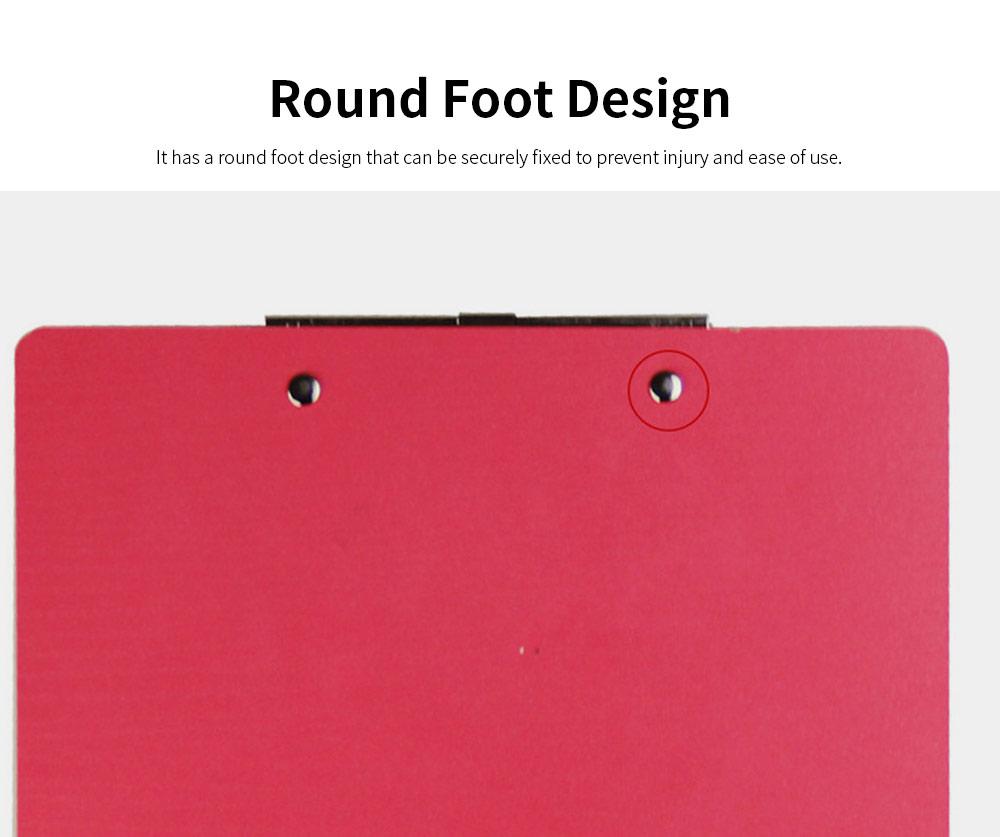 A4 Wooden File Folder, Wooden Board Notepad Desktop Document Holder 4