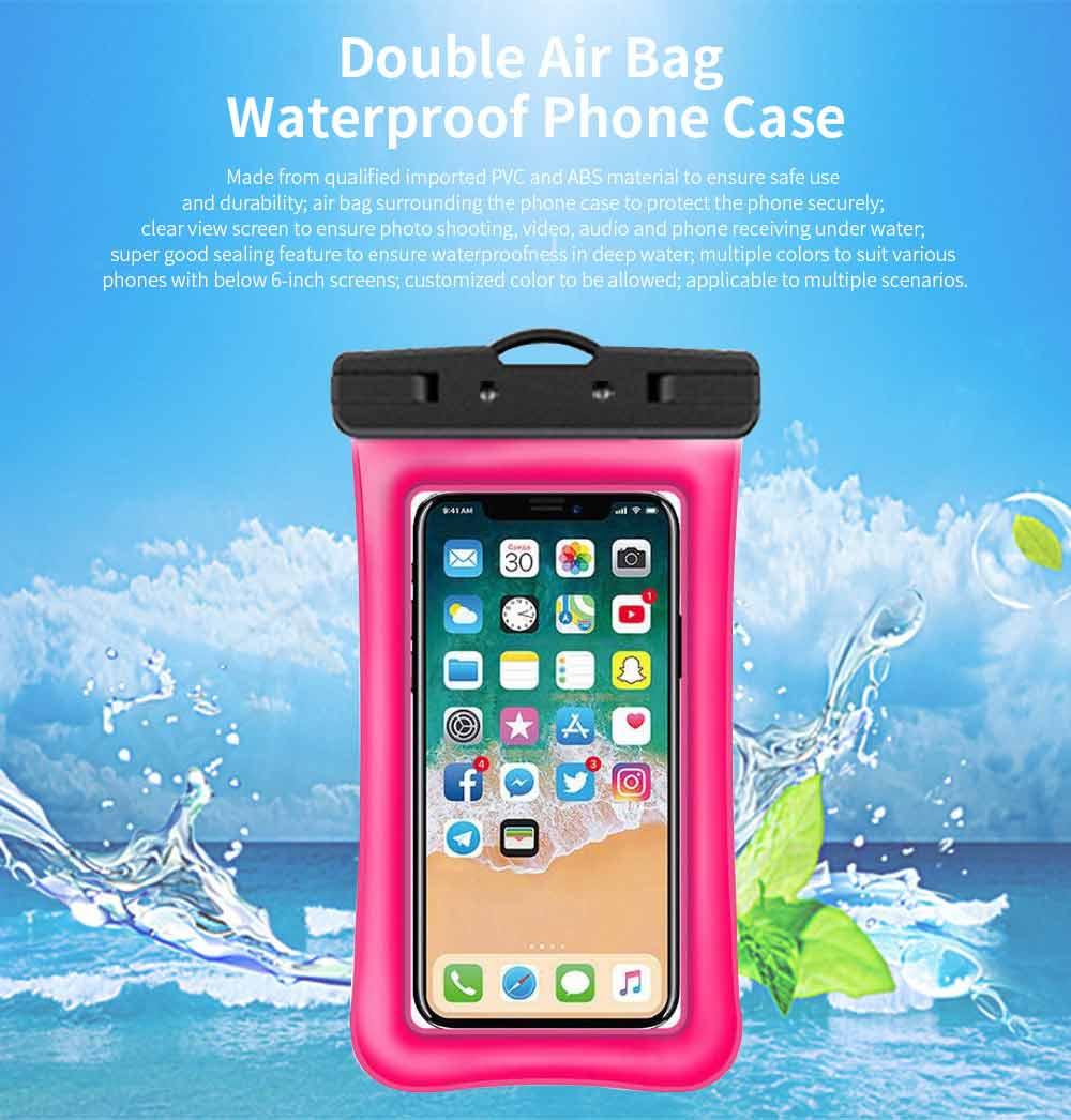 Water Resistant Cell Phone Case, Best Waterproof Floating Phone Pouch 2019 0