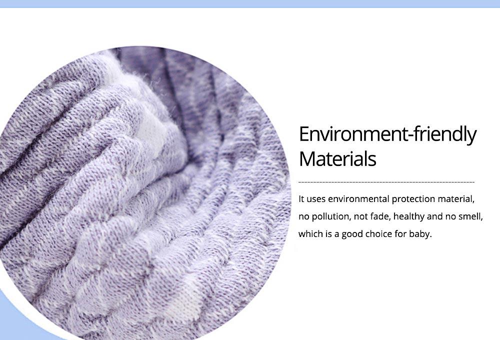 360° Rotating Children's Saliva Towel, Nature Cotton Fabric Lace Round Bib 3