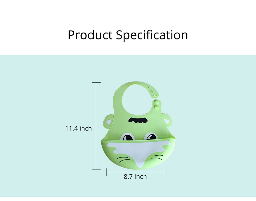 Disposable Baby's Bibs, Leakage Preventing Silicone Waterproof  Bib 6