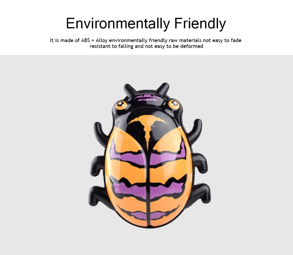Children's Cartoon Alloy Beetle Inertia Car Small Toy, Creative Toy Car for Baby Over Three-years-old 2