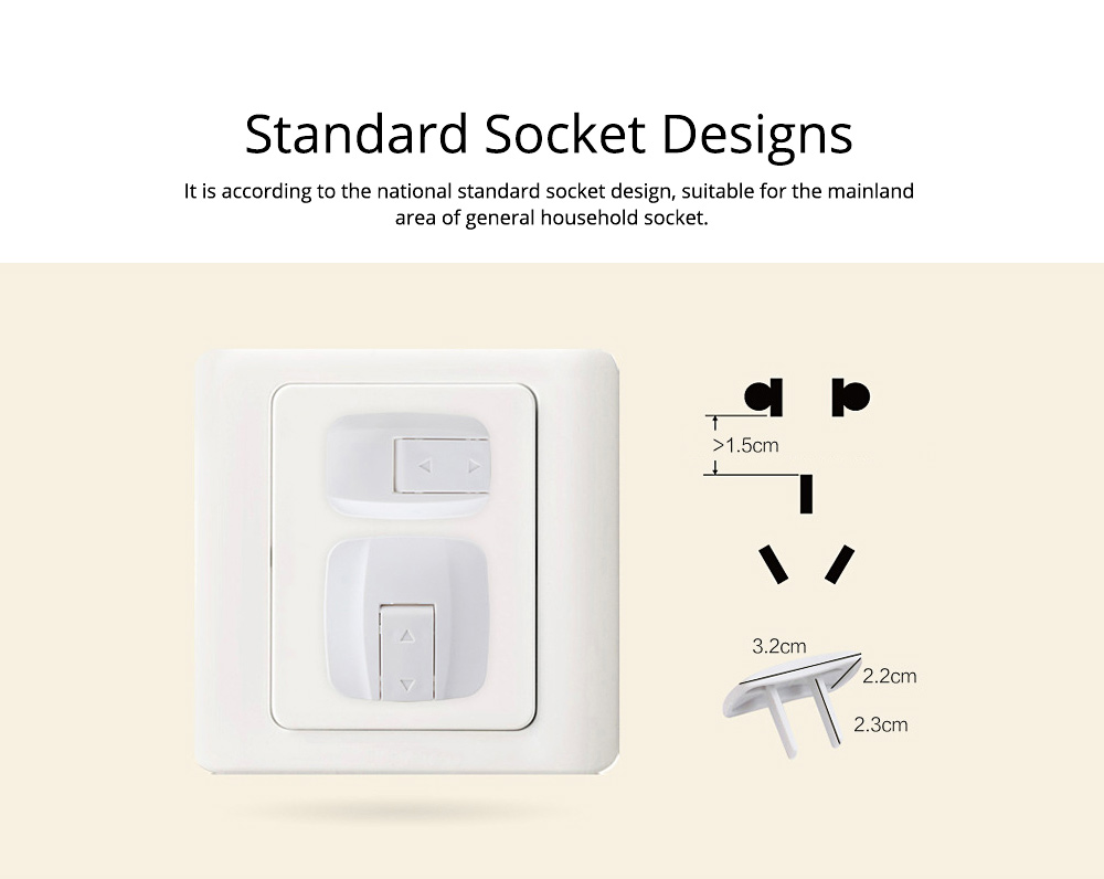Electrical Outlet Covers Child Proof Safety, Baby Jack Plug Protective Cover 4
