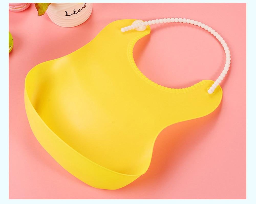 Soft PEVA Waterproof Baby's Bib, Breathable Pocket Groove Bib for Baby 8