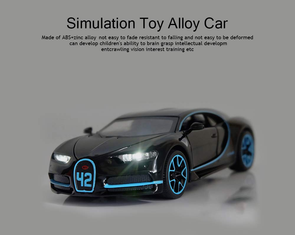 Simulation Alloy Toy Car, Children's Toy Car for Over Six-year-old Children 0
