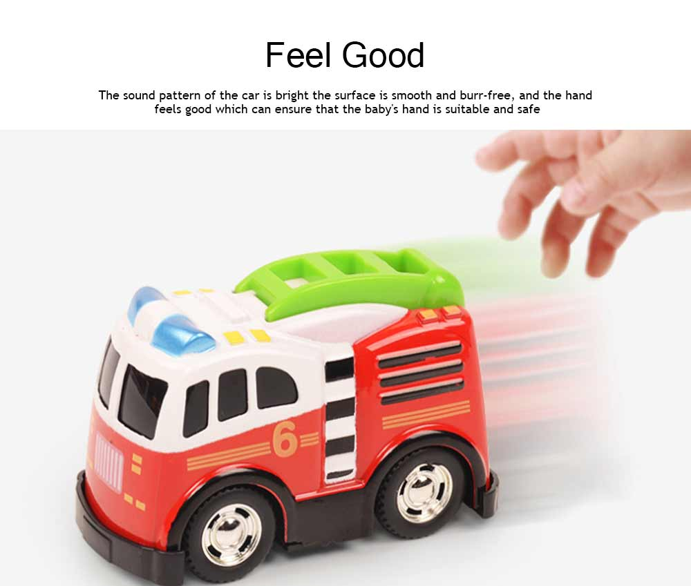 Toy Car Set For Toddlers, Pull Back Car, Alloy Puzzle Car, Mobilization Q Version Mini Car 3