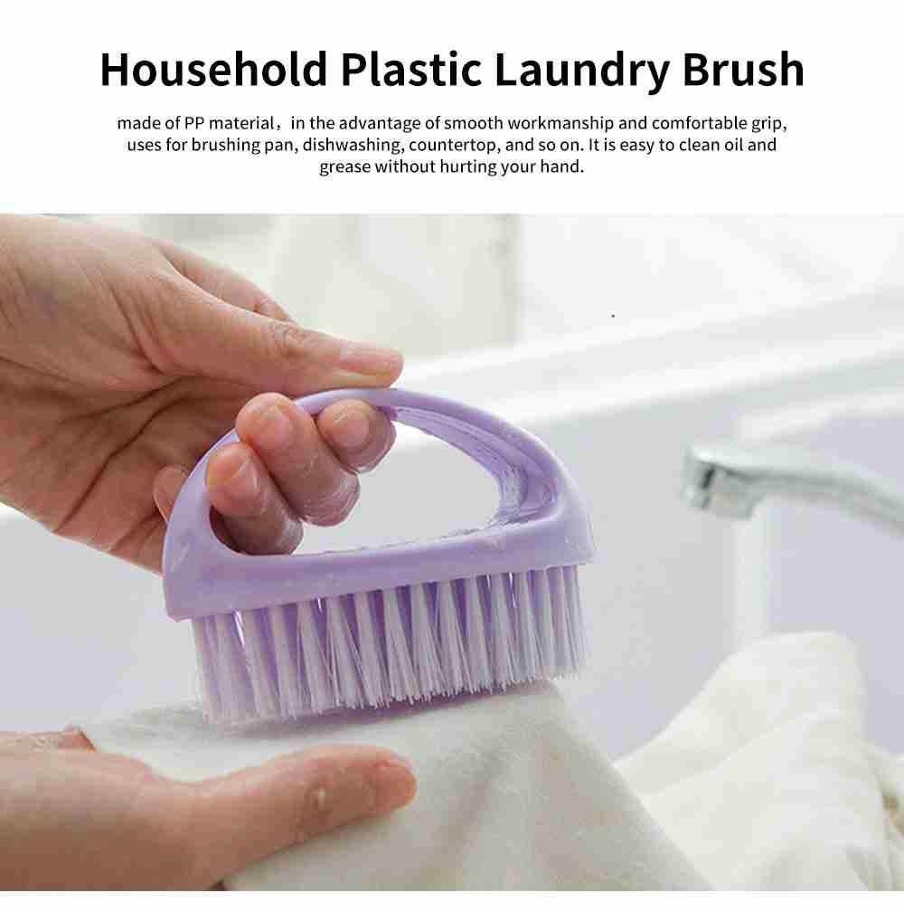 Soft Brush For Washing Clothes, Multifunctional Laundry Brush, Shoe Brush 0
