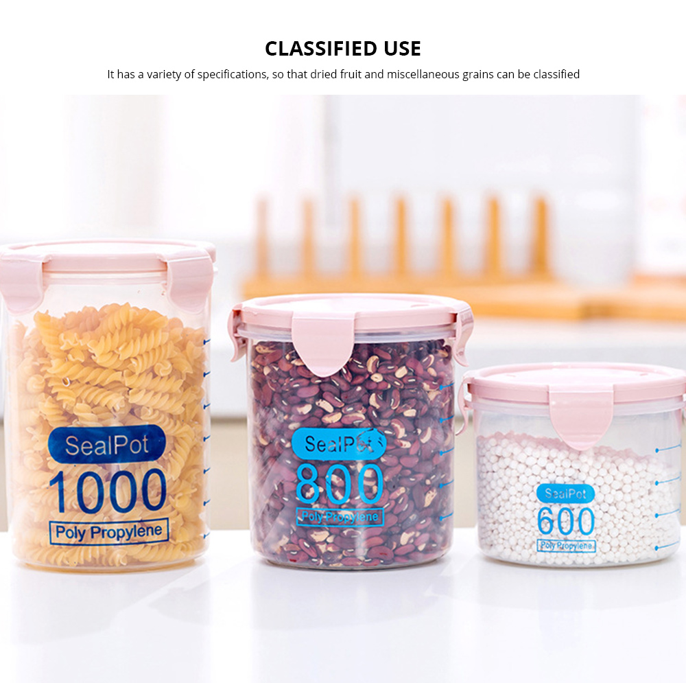 Clear Plastic Food Storage Containers With Lids, Transparent Snack Storage Containers Airtight 1