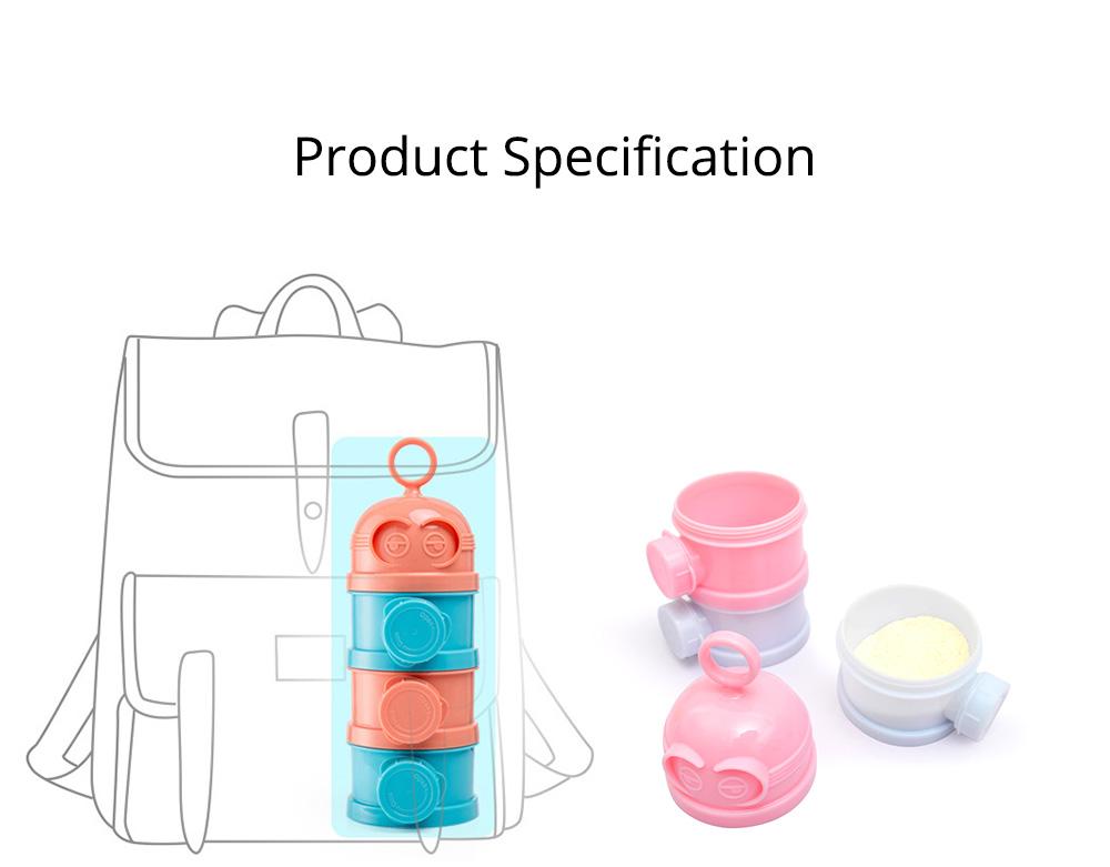 Baby Milk Powder Storage Container, 3 Layers Portable Formula Storage Box 7