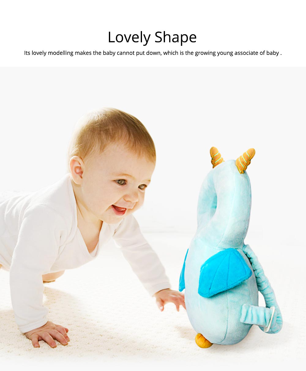 Baby Shatter-resistant Headrest, Lovely Safety Toddler Hat, Protecting the Tender Head and Back of Baby 1