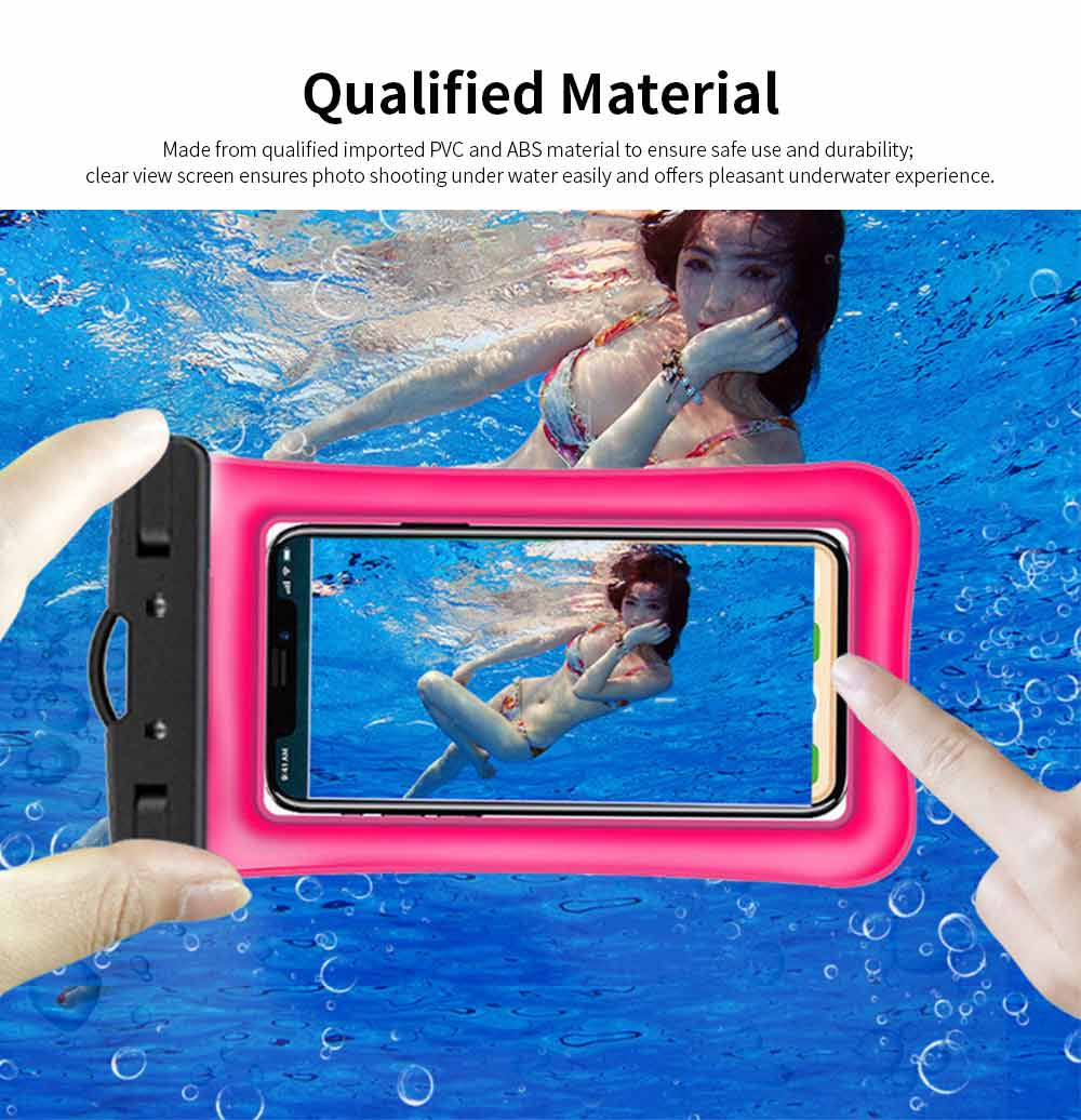 Water Resistant Cell Phone Case, Best Waterproof Floating Phone Pouch 2019 1