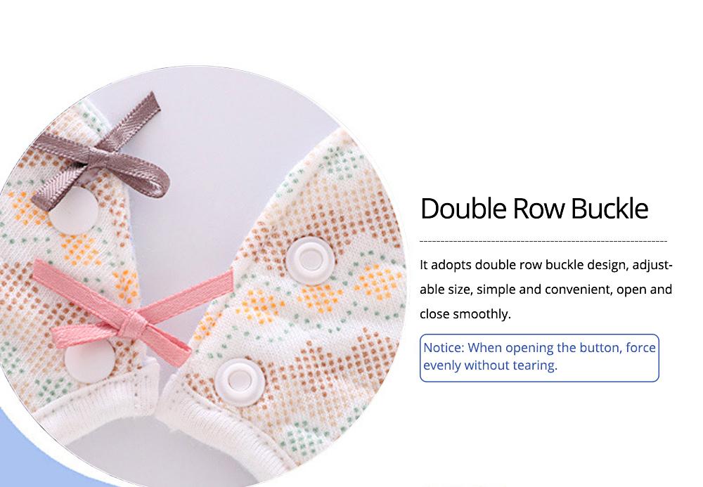 Baby's Double-layer Pure Cotton Waterproof Flower Bib, 360° Rotating Children's Saliva Towel 2
