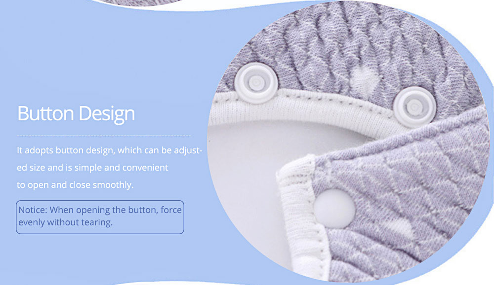 Baby Saliva Towel, Ecological Cotton Fabric Children's Bib with Fine Edge Wrapping 6