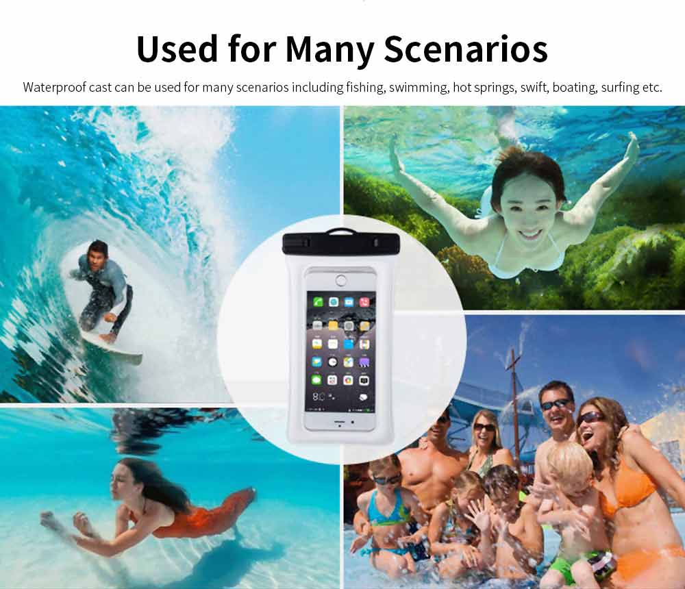 Water Resistant Cell Phone Case, Best Waterproof Floating Phone Pouch 2019 6