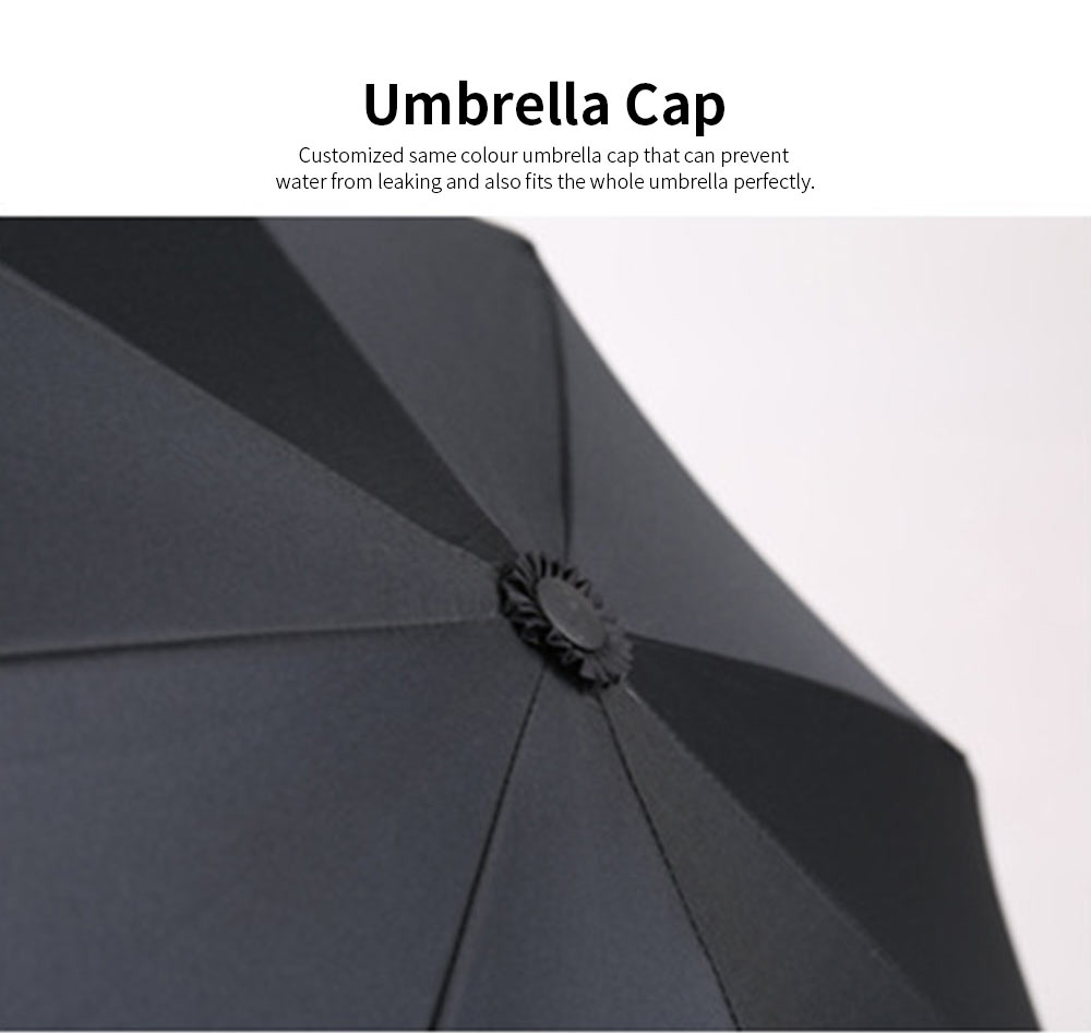 Reverse Double Layer Inverted Umbrella, Inside Out Umbrella With Strong Windproof and C Shape Handle 3