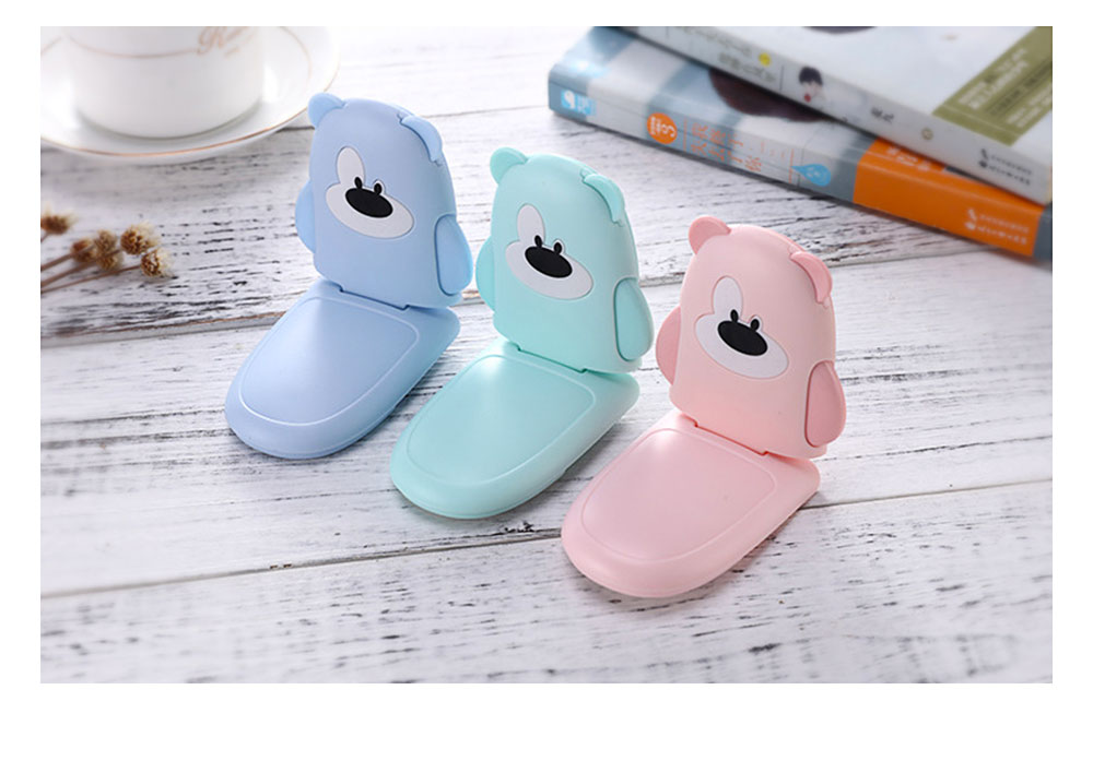 Baby Cartoon Anti-pinching Lock, Multifunctional Safety Lock with Double Button Switch Design 11