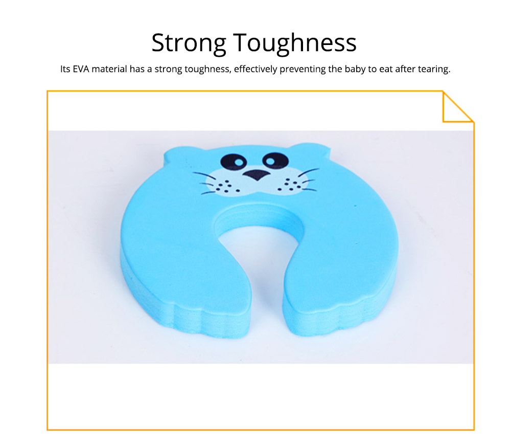 Baby Safety Door Card, Cartoon Creative EVA Windproof Anti-clip Door Stopper for Baby Pinch Guard 12
