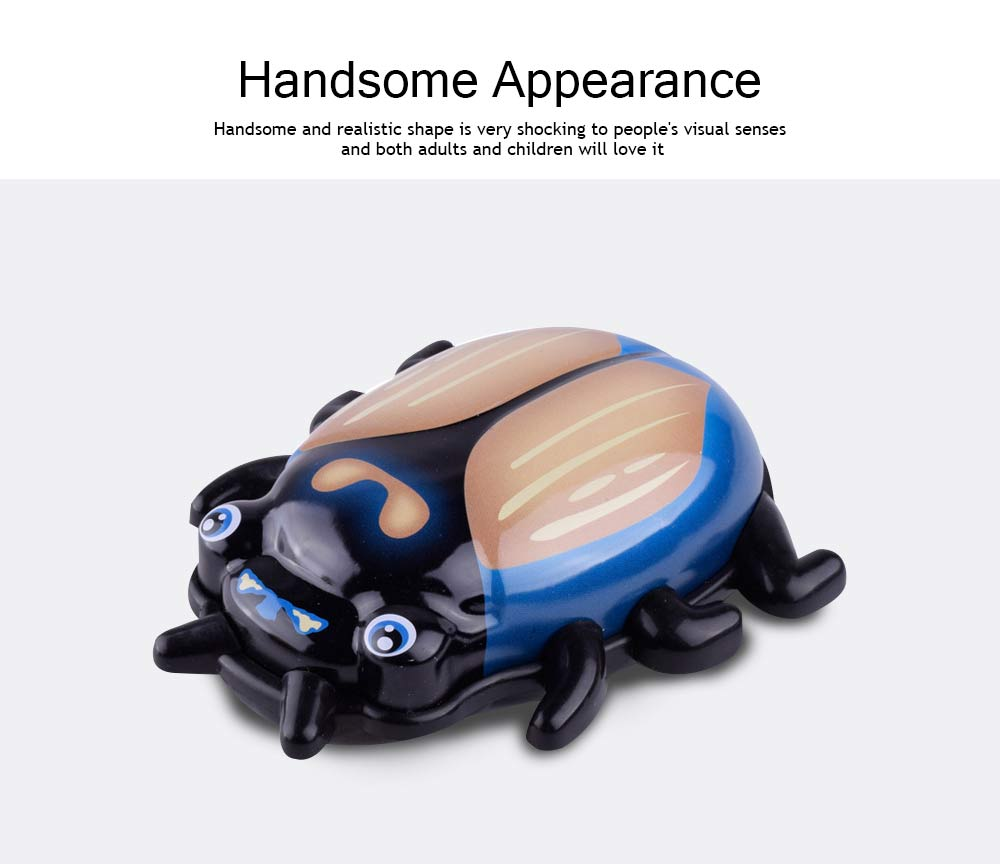 Children's Cartoon Alloy Beetle Inertia Car Small Toy, Creative Toy Car for Baby Over Three-years-old 1