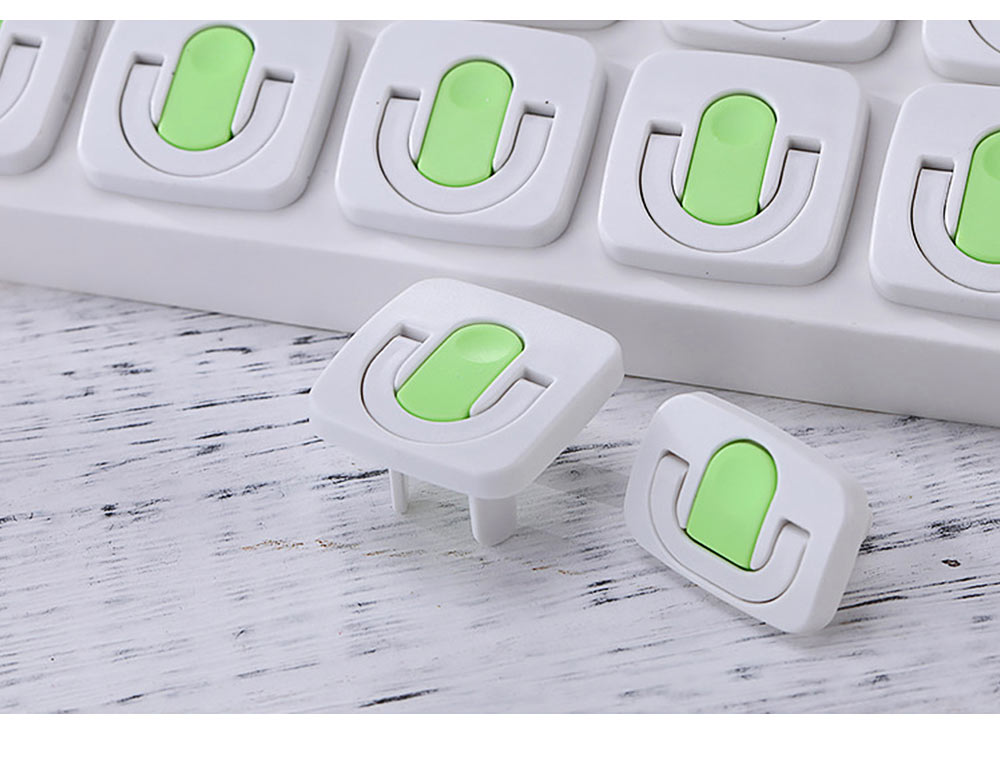 Child Safety Power Socket Insulation Cover, 2-phase 3-phase Anti-electric Shock Socket Protection Cover, 24PCS 10