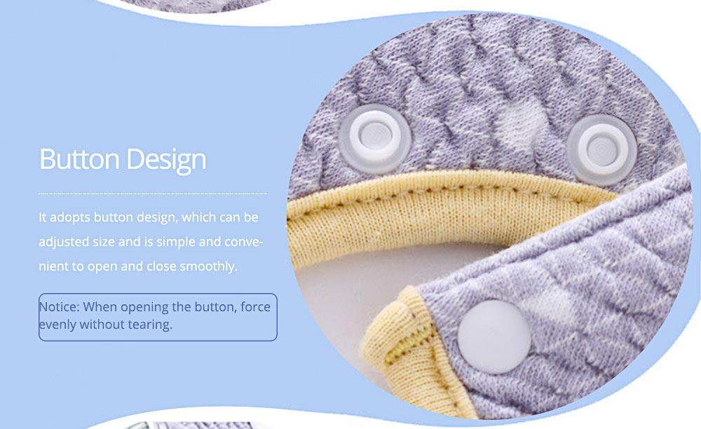 360° Rotating Children's Saliva Towel, Nature Cotton Fabric Lace Round Bib 4