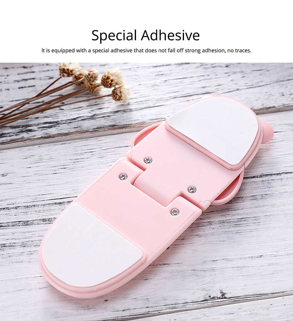 Baby Cartoon Anti-pinching Lock, Multifunctional Safety Lock with Double Button Switch Design 7