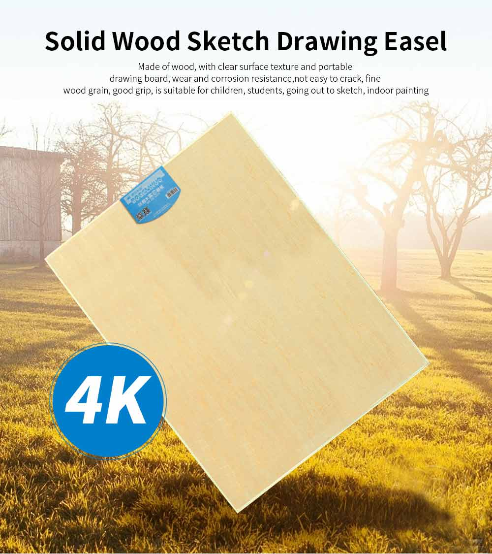 Wooden Sketch Drawing Easel, Beginner 4K Sketch Drawing Professional Art Drawing Easel Set 0